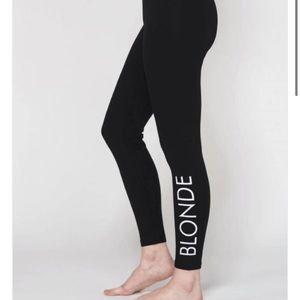 ☀️BLONDE leggings by brunette the label